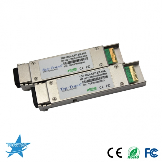 cisco 10gbase-bx bidi xfp transceiver